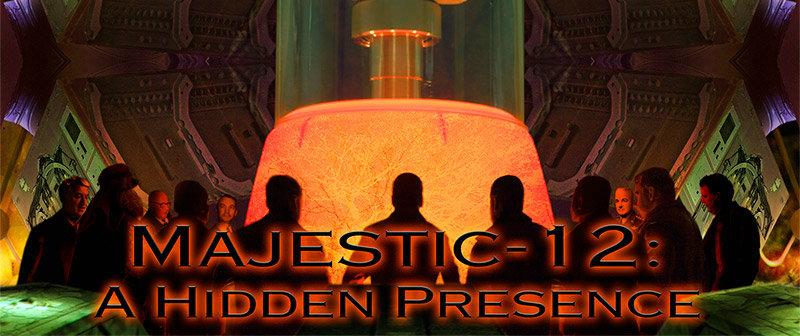 Престон Джеймс  - Предстоящий переход к космическому фашизму (Части I-III) MJ-12-Front-Cover