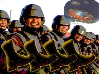Престон Джеймс  - Предстоящий переход к космическому фашизму (Части I-III) Flying-saucer-320x240