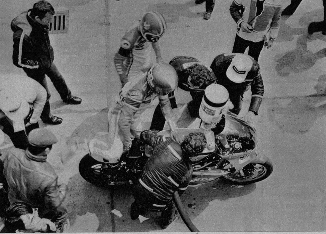 Honda RCB/RSC (d'époque) Pitwork