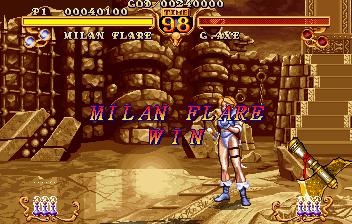 Tyris Flare - A guerreira amazona de Golden Axe Gamilan-4