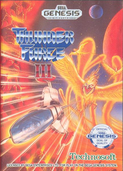 Sega Megadrive, horas y horas de felicidad. ThunderForce3PAL