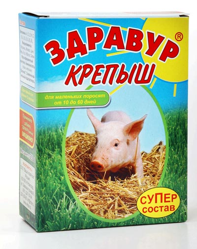 Комбикорма/стартеры для маленьких поросят Vhoz_kormovaia_dobavka_zdravur_korobka_krepysh_supersostav_250g