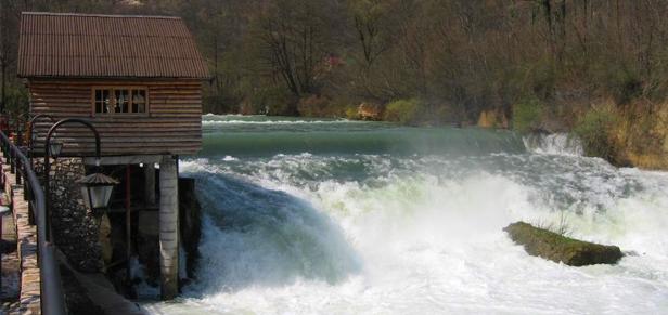 Bosna i Hercegovina Una-vodopad