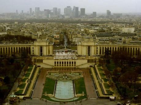 una passeggiata a parigi Mini-trocadero