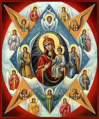 """Пресвятой Богородице перед Ее иконой """"Неопалимая купина"""" Neopalimaya_kupina"""