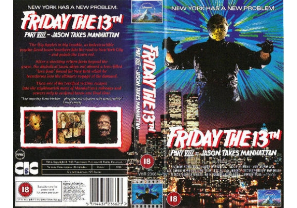 how would you rank the cover art? Friday-the-13th-viii-jason-takes-manhattan-11098l