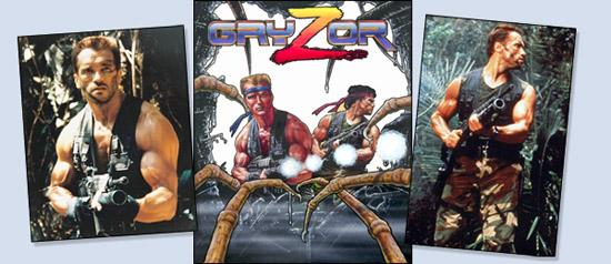Gryzor CPC/Spectrum/C64 Cot07