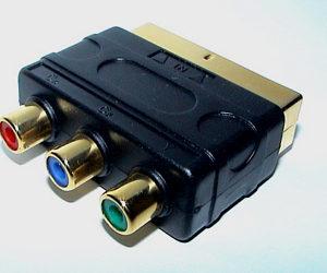 Recherche câble pour télé LCD bizarre... Yuv-rgb-scart-adapter