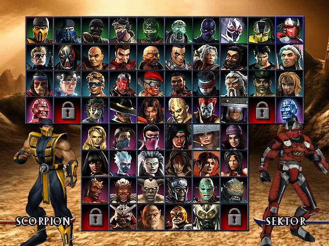 Cosplay - Página 3 Mortal-kombat-armageddon-character-select-screen