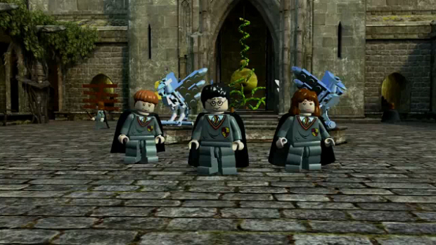 [Wii] Harry Potter Lego, Années 1 à 4 Lego-harry-potter-screenshot-ron-hermoine