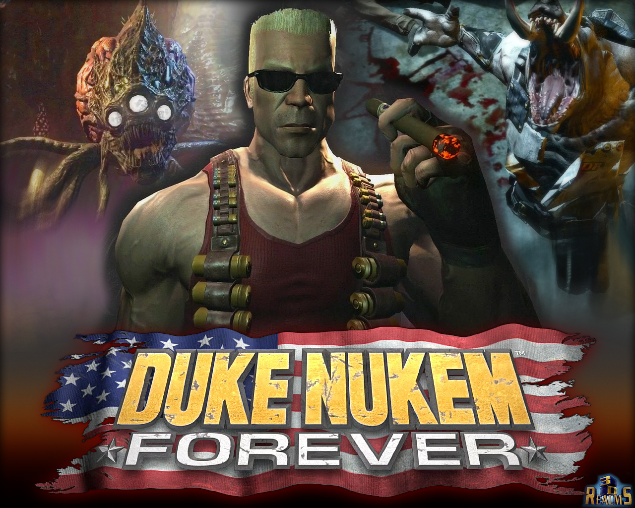 Hypah's game corner: Whatever Happened to Duke Nukem Forever Duke-nukem-forever-logo-wallpaper