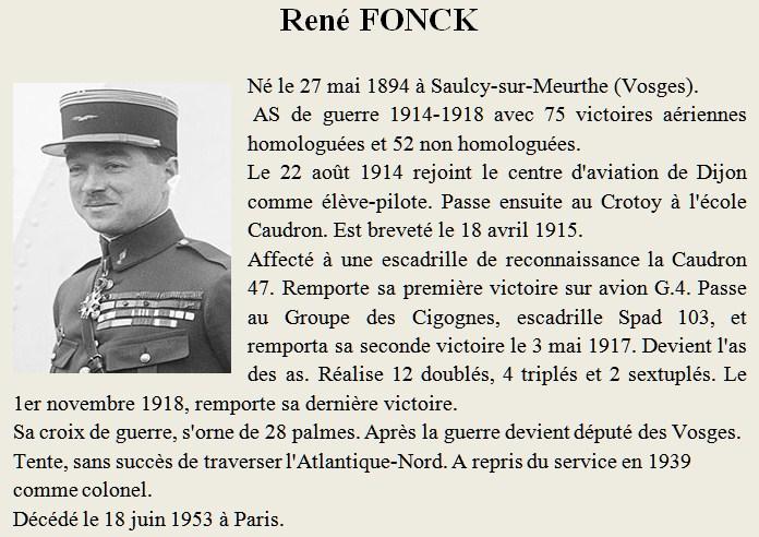 AS des AS René  FONCK Fonck