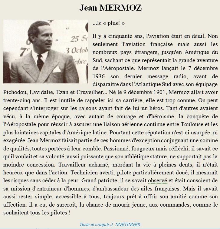 Jean MERMOZ Mermoz