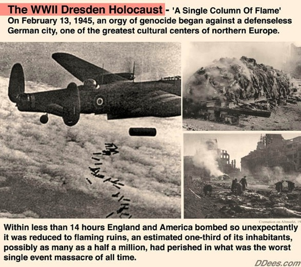 Hellstorm: Exposing The Real Genocide Of Hitler's Germany   Dresdendees2