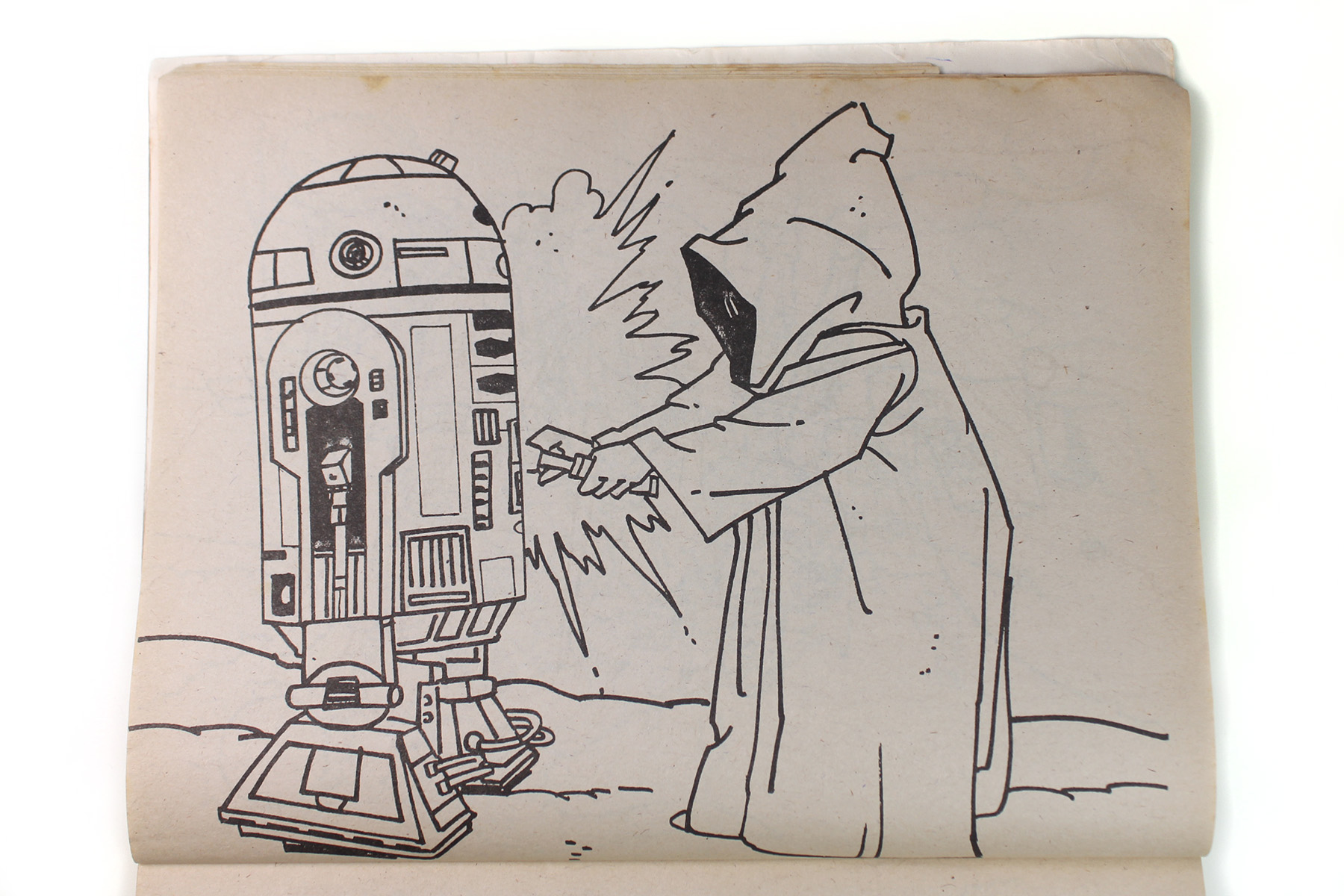 Kenner Canada coloring books for ANH Coloringbook02