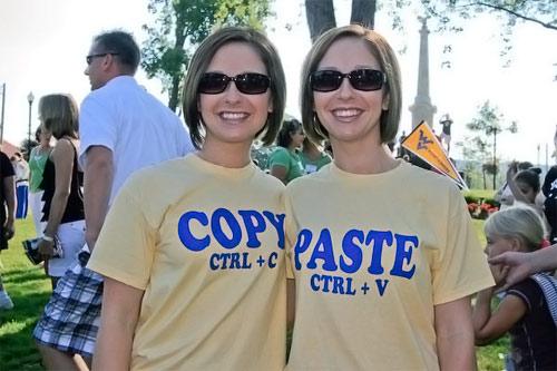 L'univers des Geeks Vetement-jumeaux