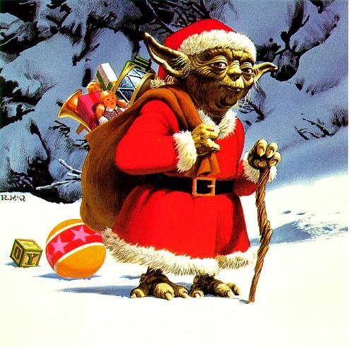 BONNE ANNEE  A TOUS Yoda-noel