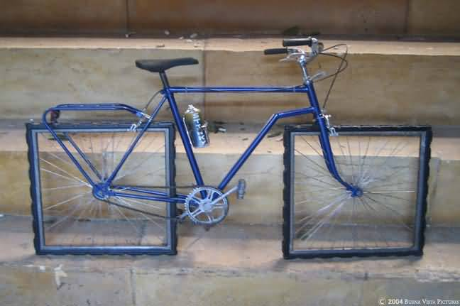 مووووش معقووول Bicyclette-roue-carre