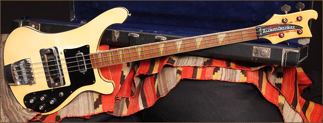 Projeto Rickenbacker 4001V63 - Luthier Daniel Japeta Original