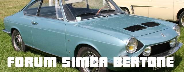 Forum Simca Bertone et coupés CG