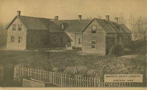 Villes et villages en cartes postales anciennes .. - Page 13 Makinak-mb-manitoba-native-american-indian-school-st-joseph-canada