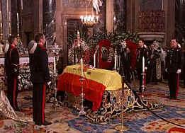 Funerales de la Realeza Velatorio