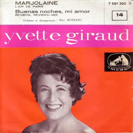Les grands de la chanson française - Page 5 Ep-yvette-giraud