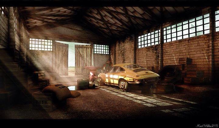 Photos de Porsche à restaurer Virage8_Porsche911_Barn-find