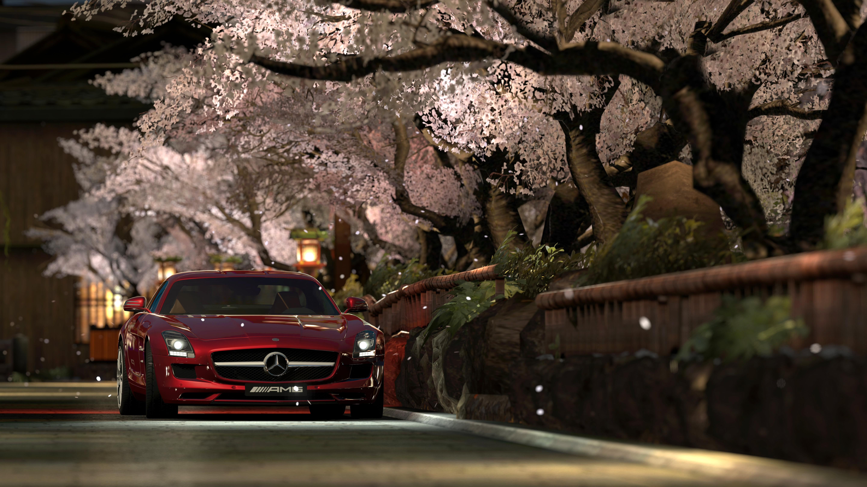 Gran Turismo 5 !!! Gran_turismo_5_photo_mode_kyoto_shirakawa_mercedes_benz_sls_amg_10