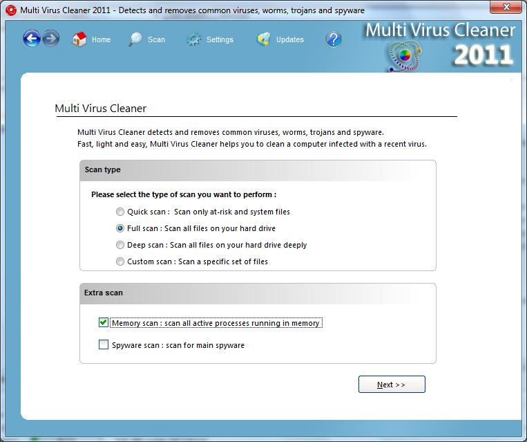 Multi Virus Cleaner 2011 (11.5.2) Snap_mvc2011