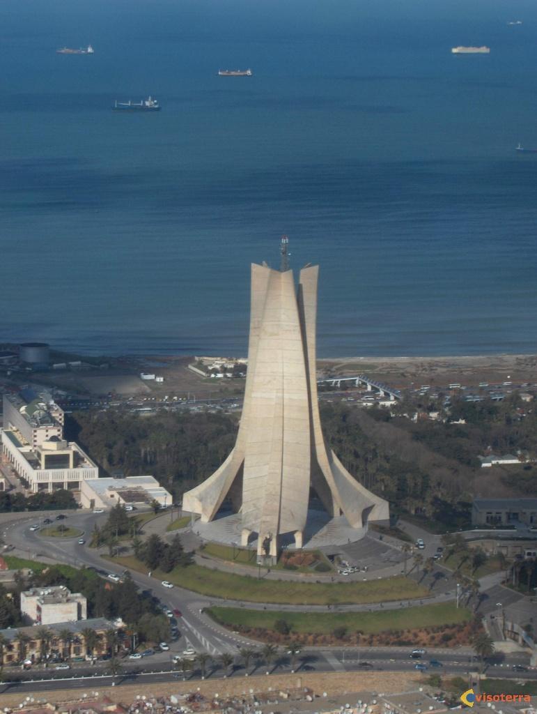 صور مقام الشهيد بالجزائر Alger-la-blanche-5-visoterra-13082