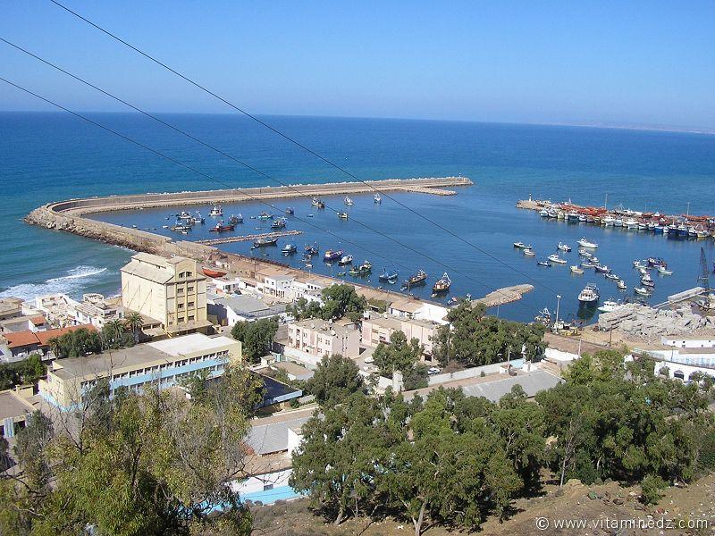 شواطئ و حمامات عين تموشنت  120-port-de-beni-saf