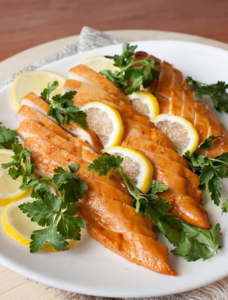 Горячие блюда. - Страница 4 Honey-lemon-chicken-breasts
