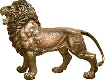 Лев и собачки Фу Lion