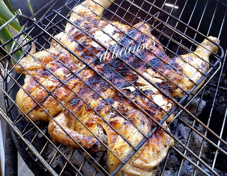 Κοτόπουλο Πεταλούδα σχάρας και φούρνου 0131