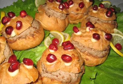 Γιορτινά αλμυρά εκλαιράκια Giortinaeklairakia