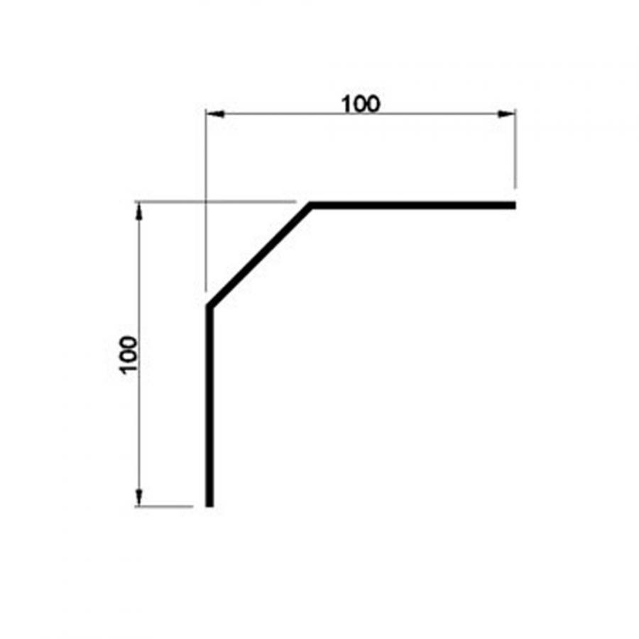Didascalie initiale de Ruy Blas -Corniere-a-pan-coupe-100x100-en-PVC-au-metre