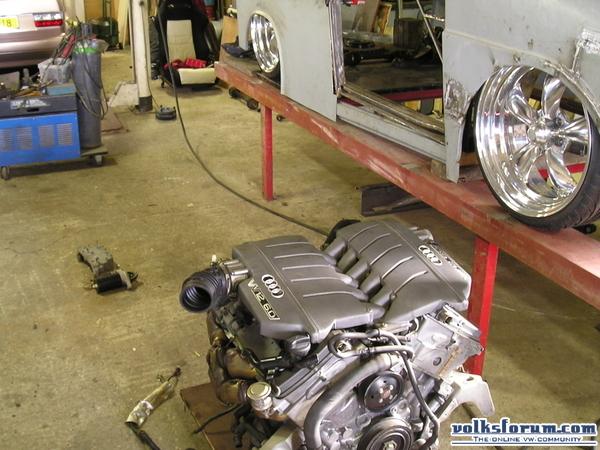 Fridolin W12 project! Motorbakfridolin020