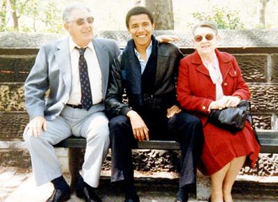 Barrack Obama - CIA Agent & Manchurian Candidate Grandma-edb16
