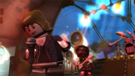 Lego.... ROCK BAND !!! LegoRockBand