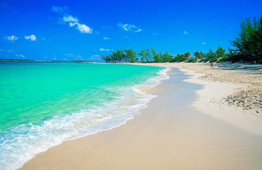Les plus belles plages du monde Plage-paradisiaque-bahamas-848x552