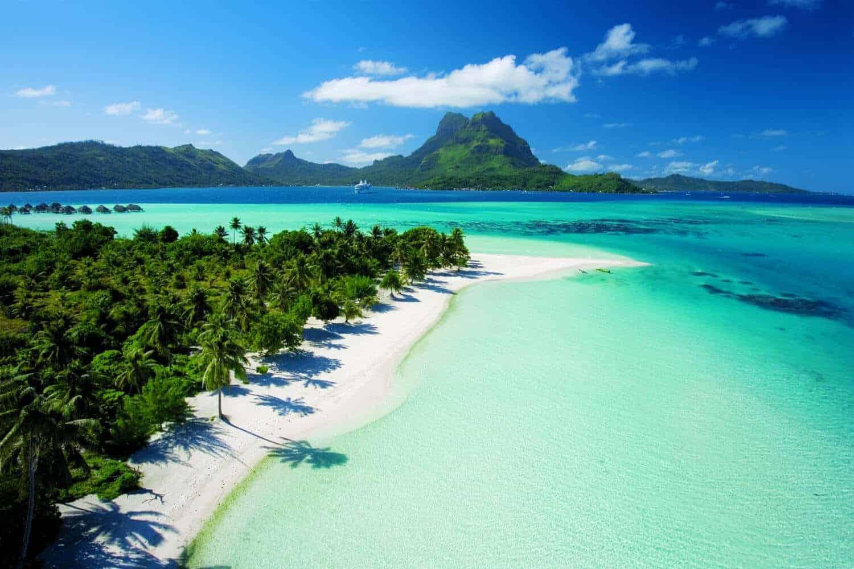 Les plus belles plages du monde Plage-paradisiaque-bora-bora