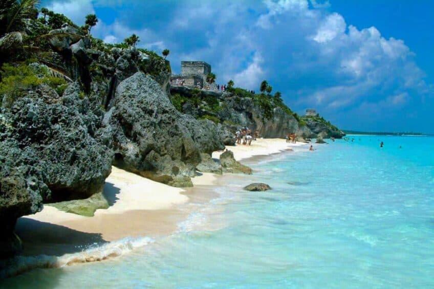 Les plus belles plages du monde Plage-paradisiaque-mexique-848x565
