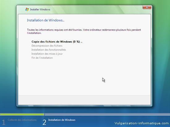 Installer Windows Vista Etape_11