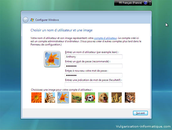 Installer Windows Vista Etape_13