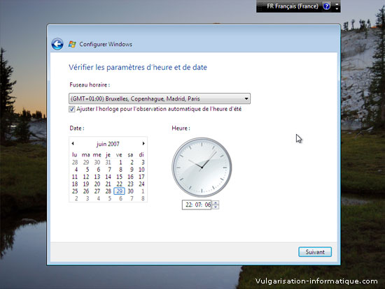 Installer Windows Vista Etape_16