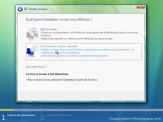 Installer Windows Vista Etape_6