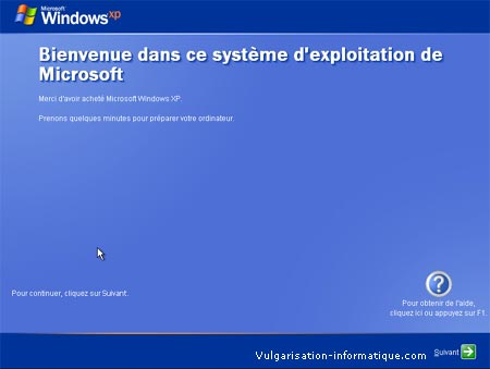 PROCEDUR D'INSTALLATION DE WINDOWS XP Etape_21