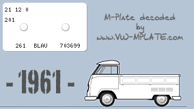 Single cab with enlarged wood bed 1960 Mplate-10262