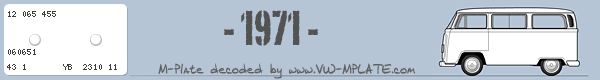 VW T2a 1970 Mplate2-7698
